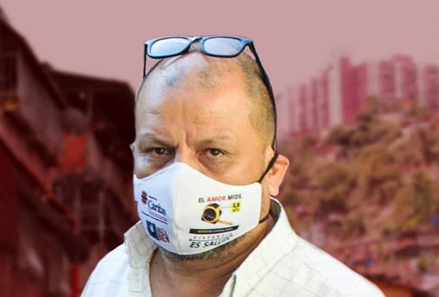 JAIRO PÉREZ, miembro de Cáritas parroquial detenido el 14 de julio 2021 en La Vega, Caracas - @GuardianCatolic