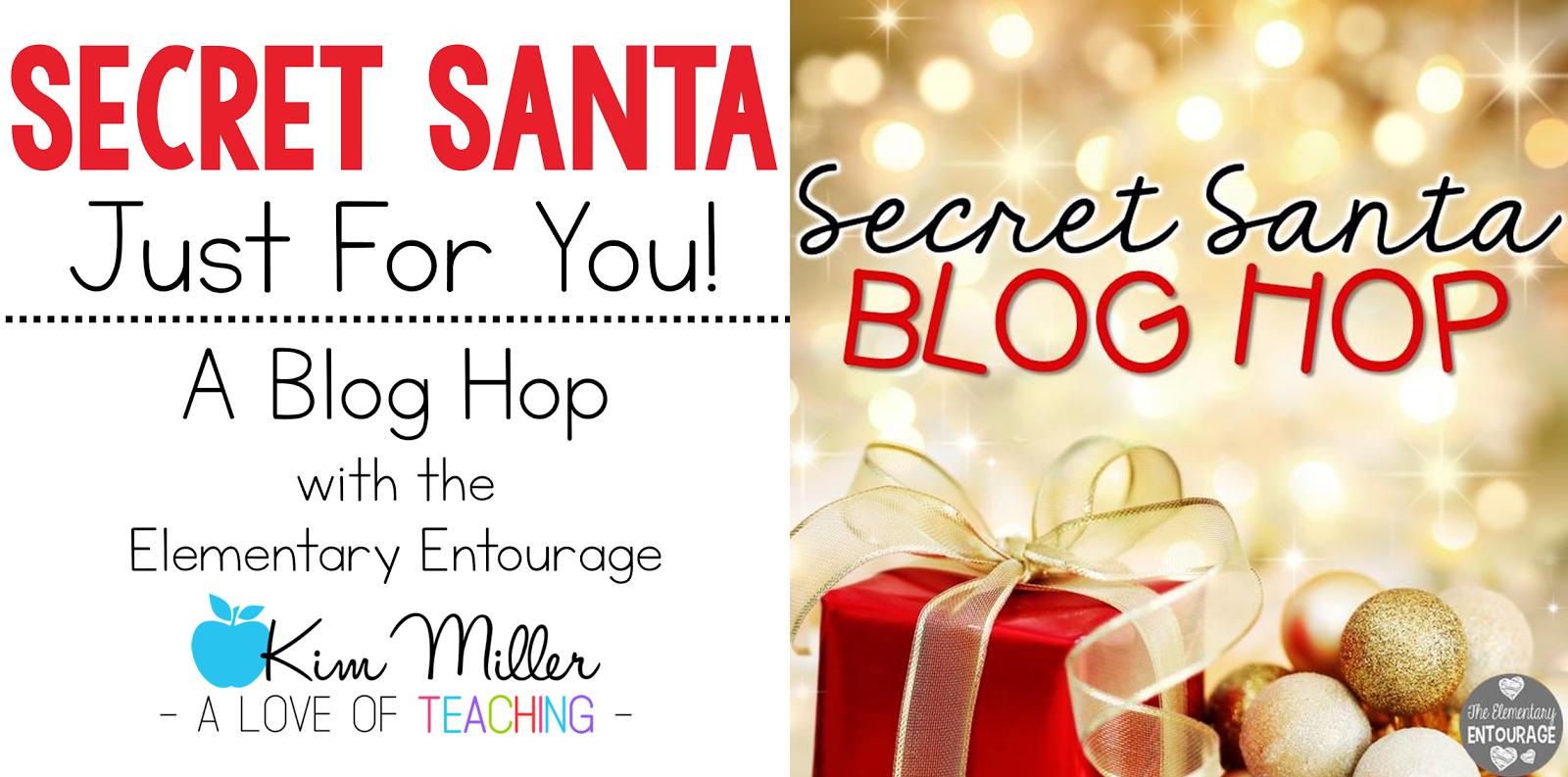 A Secret Santa Blog Hop with The Elementary Entourage