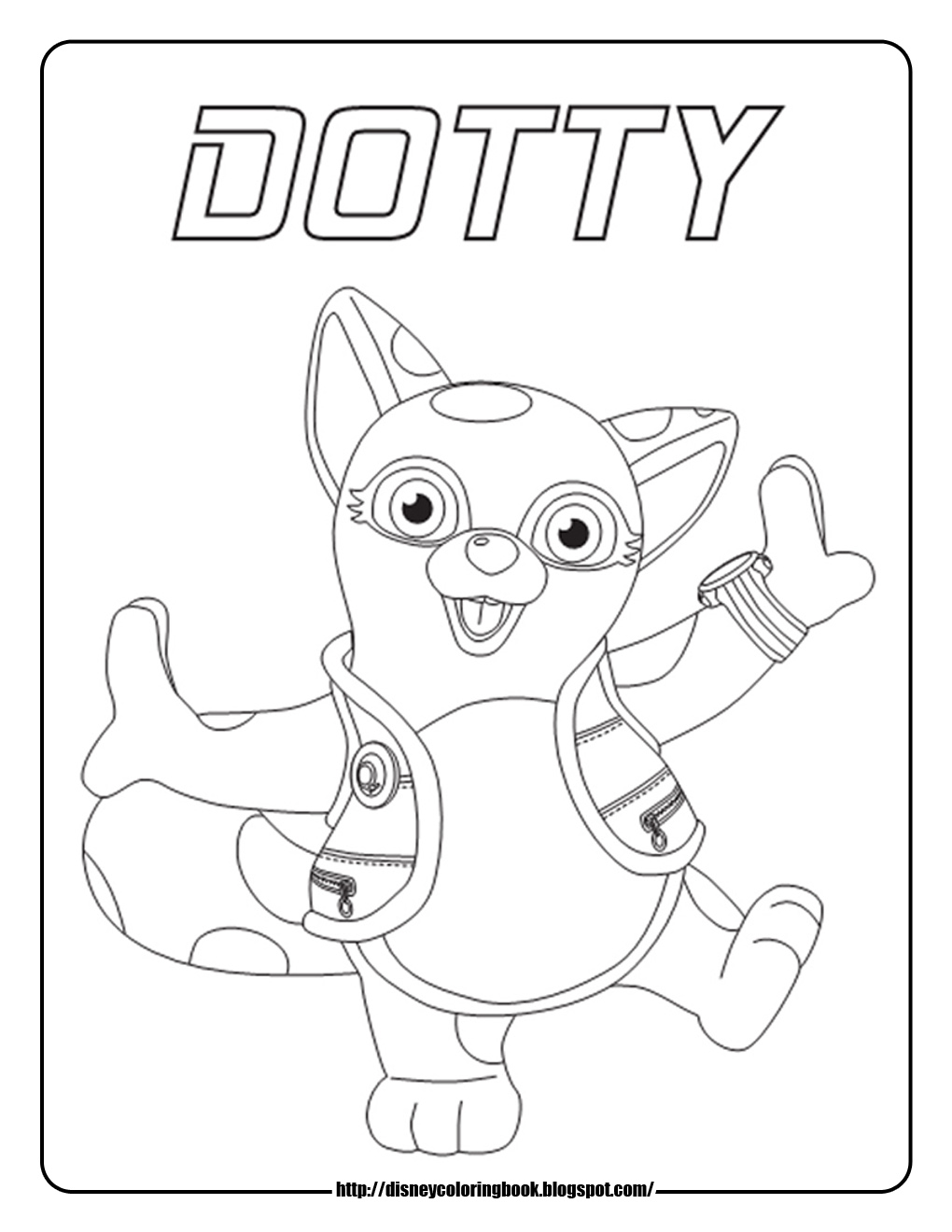 Disney Coloring Pages And Sheets For Kids Special Agent Oso 1
