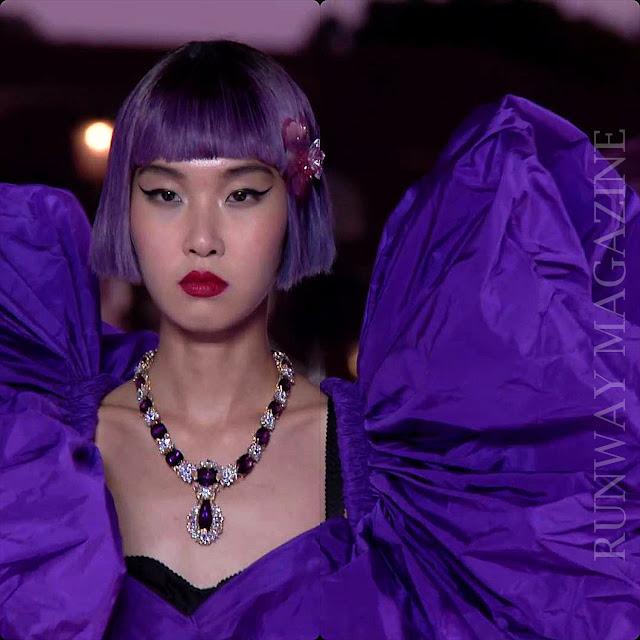 Dolce Gabbana Alta Moda Venice 2021 by RUNWAY MAGAZINE