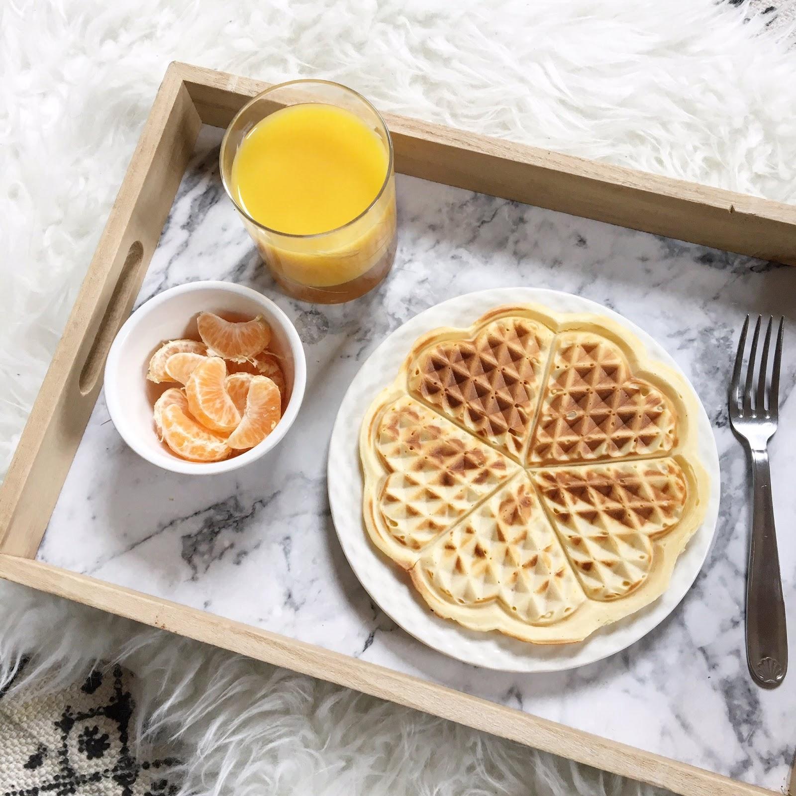 Breakfast de Saint-Valentin : Heart Waffles ?