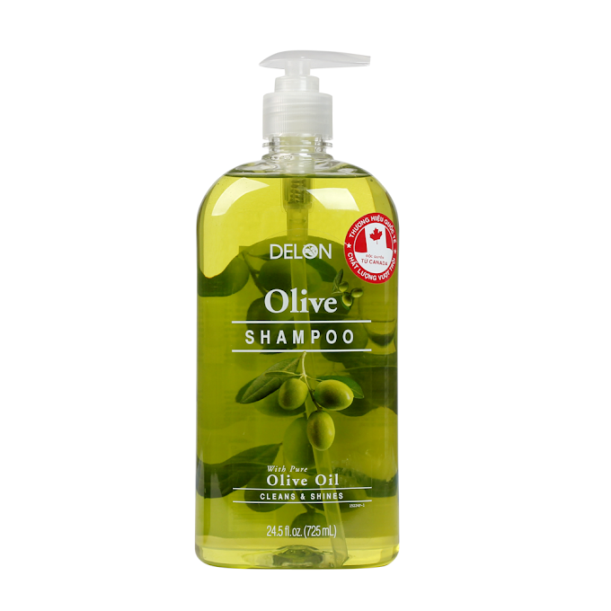 Dầu Gội Delon với tinh dầu Olive