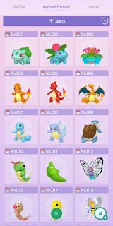 National Pokedex Pokémon HOME