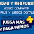 COMPARTIR PS PLUS Y JUEGOS EN PS4 - DUDAS Y RESPUESTAS
