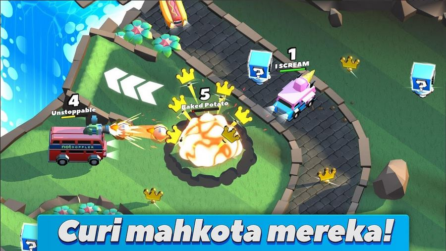 download  Crash of Cars Mod Apk [Unlimied Money/Gems/Coins] Terbaru 2020 3