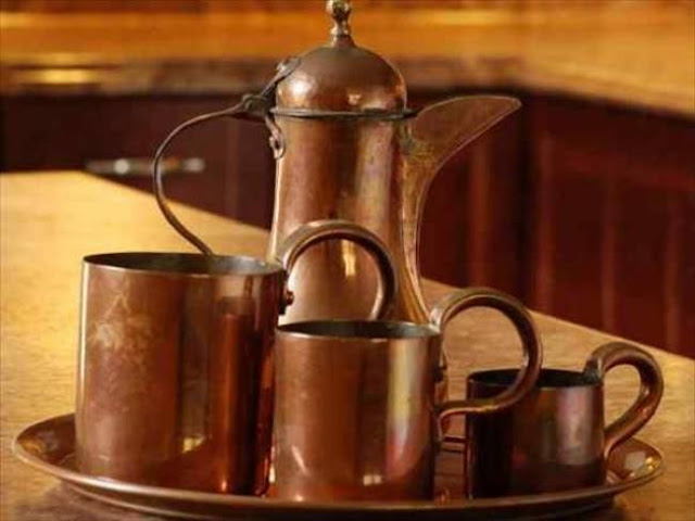 copper vessels tips to storage food