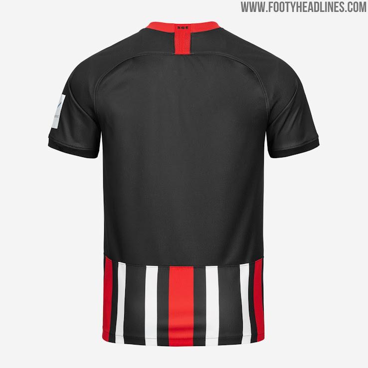 Vereinsfarben Eintracht Frankfurt