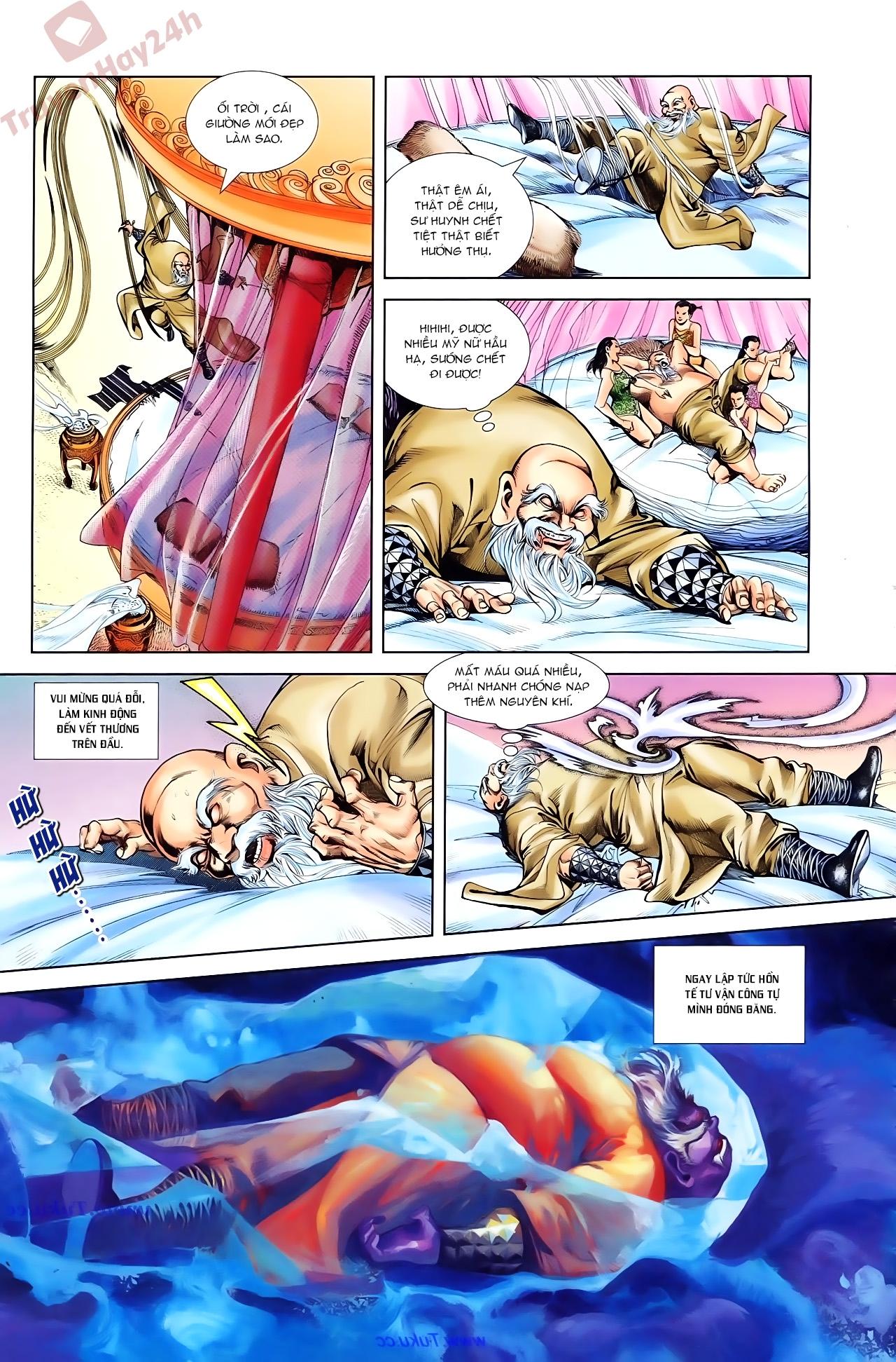 Cơ Phát Khai Chu Bản chapter 84 trang 5