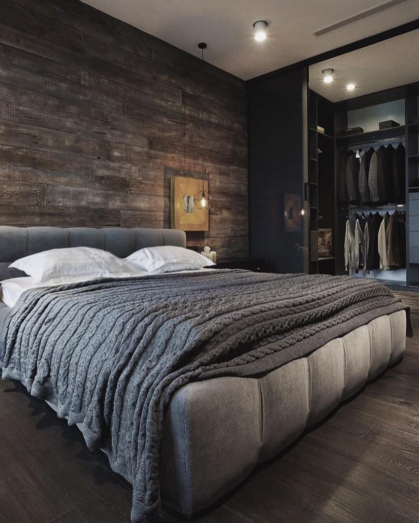 Decorazioni Camere Da Letto Moderne le più belle idee per arredare la camera da letto di un uomo