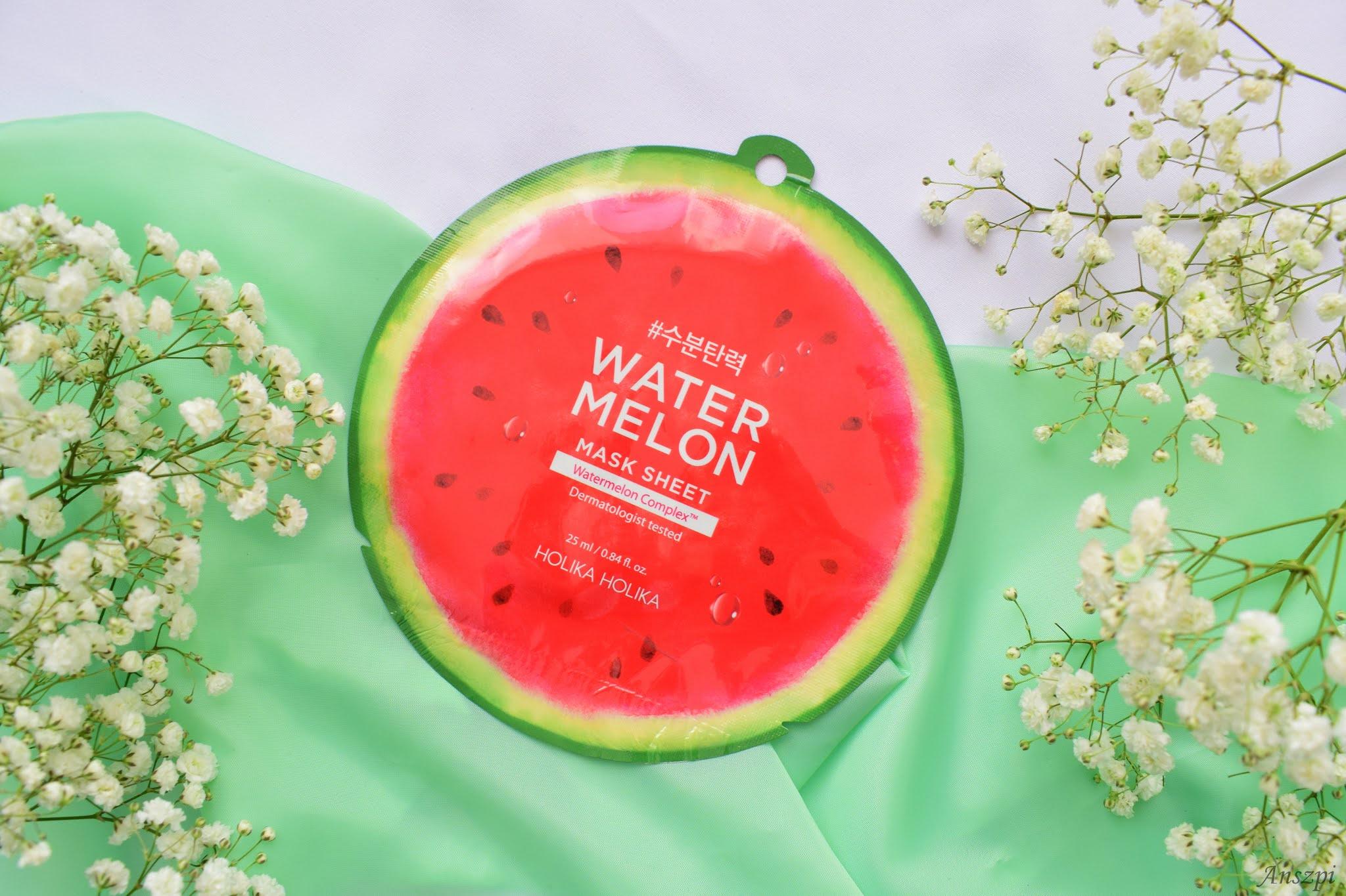 Maseczka płócienna z ekstraktem z arbuza Watermelon Mask Sheet