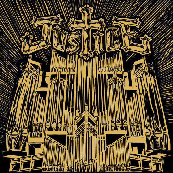 Justice - Waters of Nazareth (The Remixes) - Single Cover