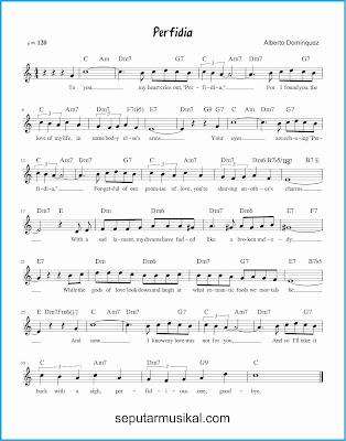 perfidia lagu jazz standar