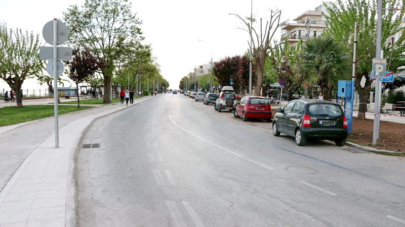 Ανοιχτή για τα αυτοκίνητα η παραλιακή οδός της Αλεξανδρούπολης μετά τις 12 τα μεσάνυχτα