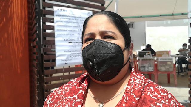Ninive Zuñiga pide respetar voto ciudadano