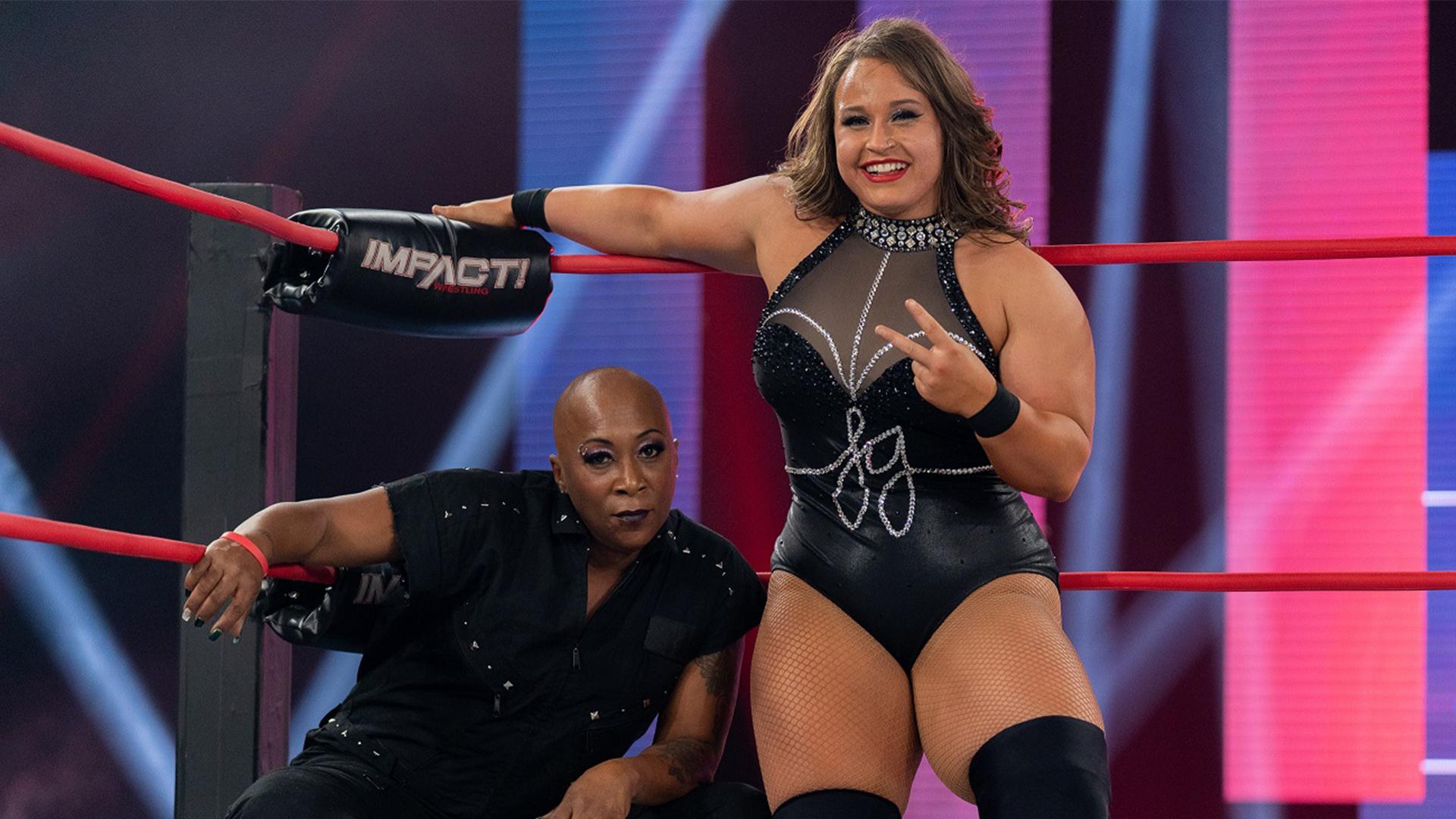 Jazz e Jordynne Grace avançam no torneio do IMPACT Knockouts Tag Team Championship