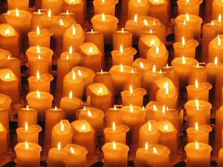 mifrasedeldia - velas encendidas