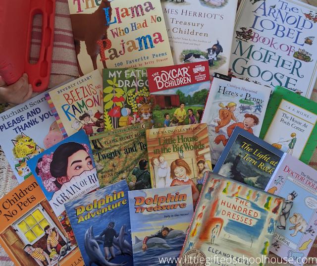 Read Aloud Books for Bookshark Level A