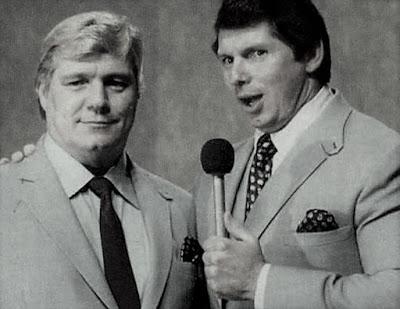 Pat Patterson and Vince McMahon