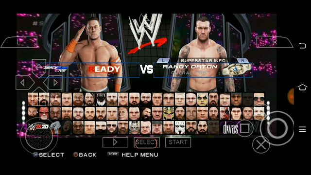 Wwe 2k17 in 100mb ppsspp iso