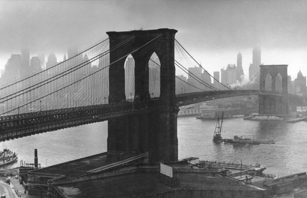 Clouds Over the Brooklyn Bridge