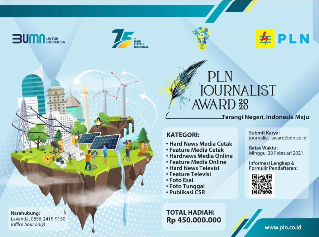 Penghargaan Karya Jurnalistik Periode 1 Januari 2020 Hingga 28 Februari 2021