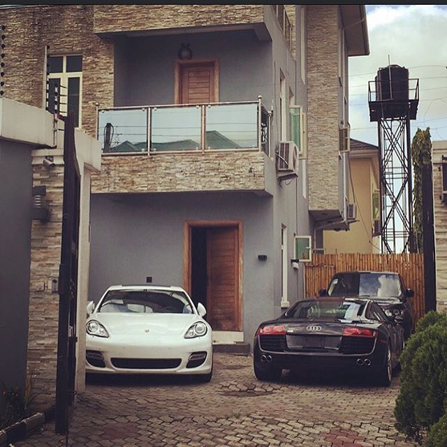 Image result for Photos of Davido House in Lekki