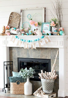 Catchy Farmhouse Spring Decor Ideas