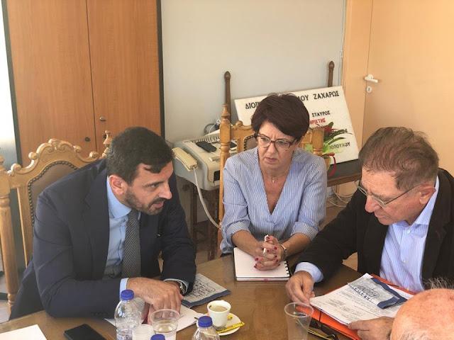 Το Π.Δ. για τον Κυπαρισσιακό πρέπει άμεσα να αλλάξει…-Συνάντηση ουσίας  Ανδρέα Νικολακόπουλου με τη δημοτική αρχή Ζαχάρως