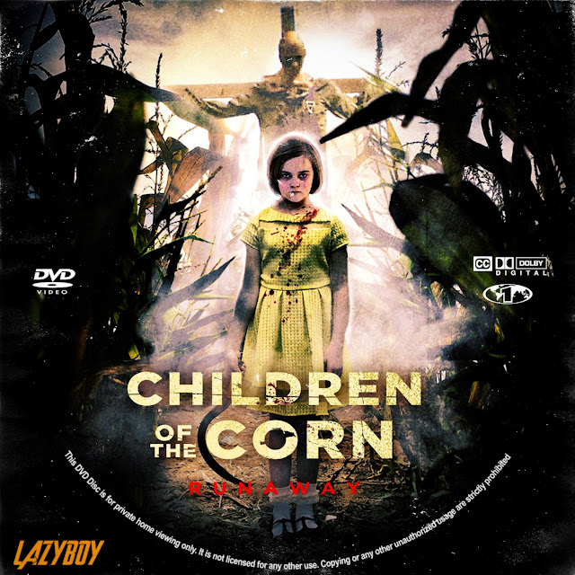 Children of the Corn: Runaway DVD Label