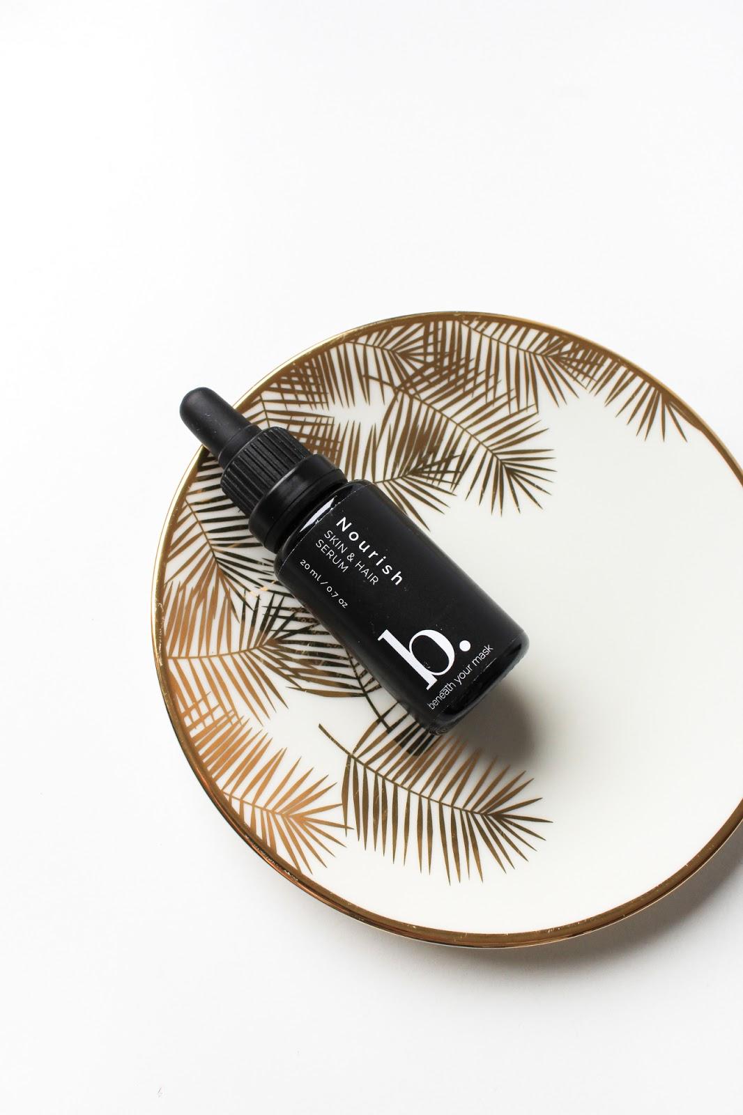 March Clean Beauty Box Indulge Beneath Your Mask Nourish Skin + Hair Serum