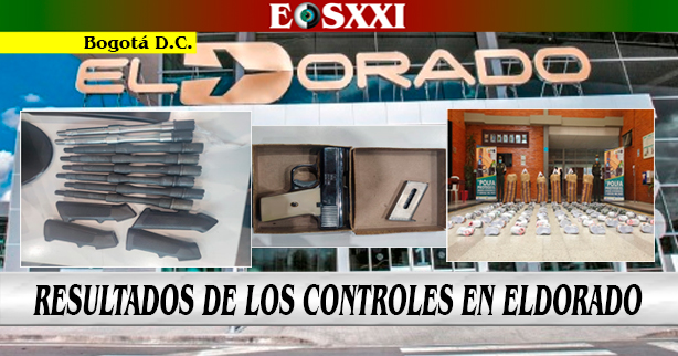 Un arma, municiones y 398 pares de tenis cayeron en ElDorado
