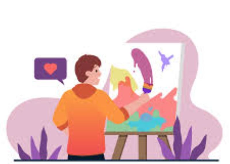 Hilangkan Stres dengan Karya Seni