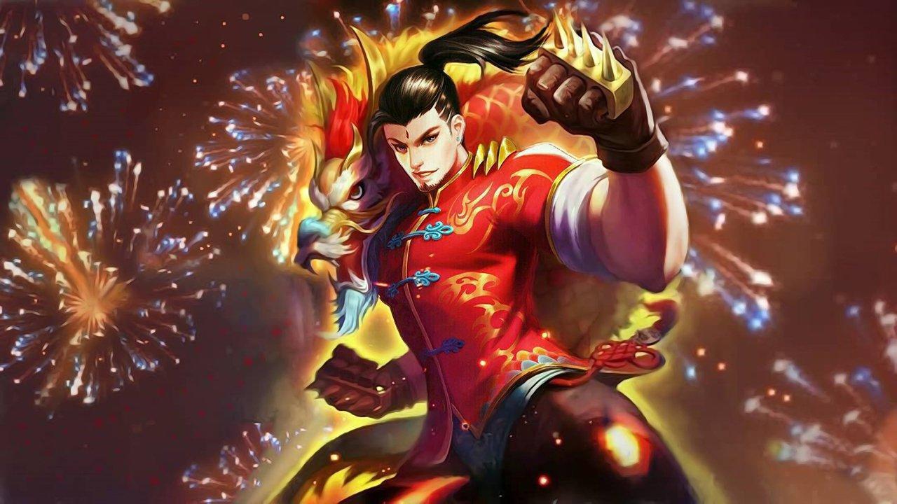 Wallpaper Chou Dragon Boy Skin Mobile Legends Full HD for PC