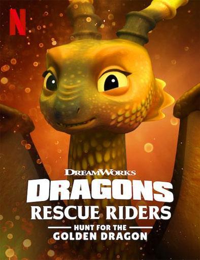 Poster de Dragones: Equipo de rescate: La búsqueda del dragón dorado