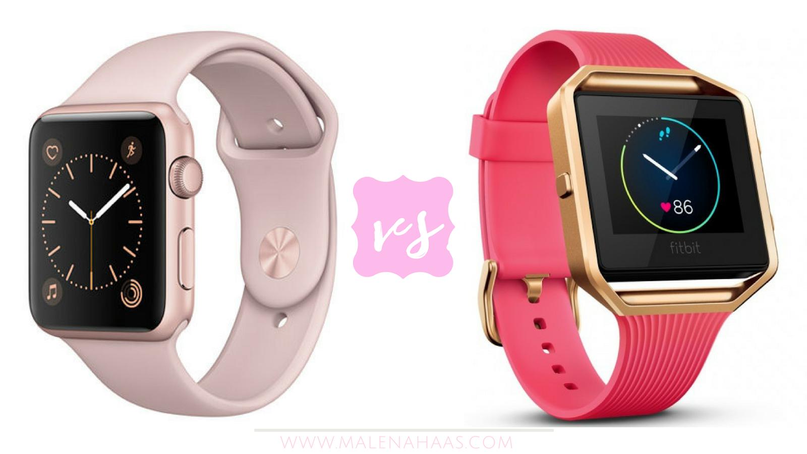 Malena Haas: Apple Watch vs. FitBit Blaze: Which Is Better?
