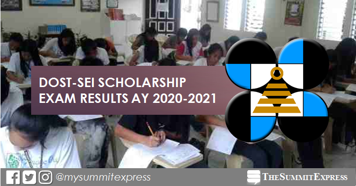 LIST OF PASSERS: DOST Scholarship Exam Result AY 2020-2021