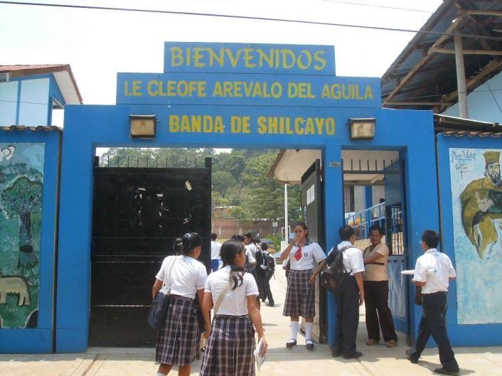 CEBA CLEOFE AREVALO DEL AGUILA - La Banda de Shilcayo