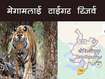 श्रीविल्लीपुथुर-मेगामलाई टाइगर रिज़र्व | Srivilliputhu -Megamalai Tiger Reserve