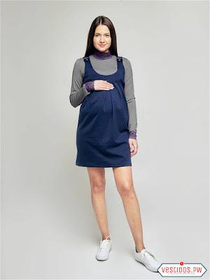 vestidos para embarazadas sencillos