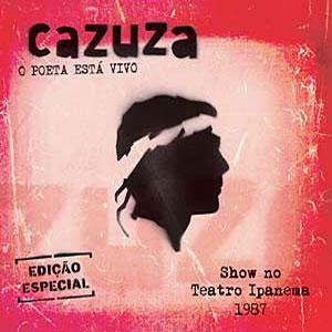 Cazuza - O Poeta Está Vivo - Capa do Disco Gravado em 1987