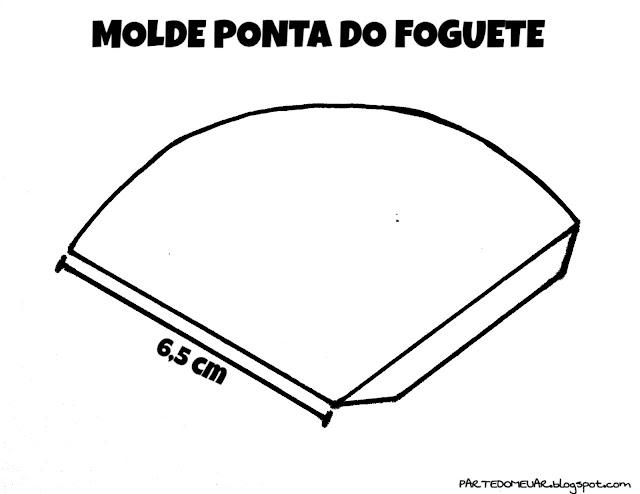 MOLDE DE FOGUETE