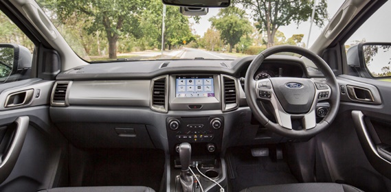 2017 Ford Everest Review Interior