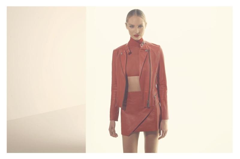 Candice Swanepoel for Animale 'El Rojo' Campaign