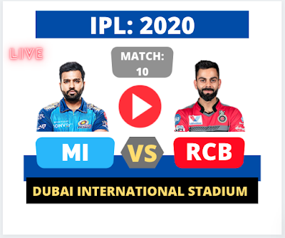 Bangalore vs Mumbai, 10th Match, RCB Loose the Toss and batting first