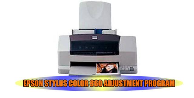 Epson Stylus Color 860 Printer Adjustment Program