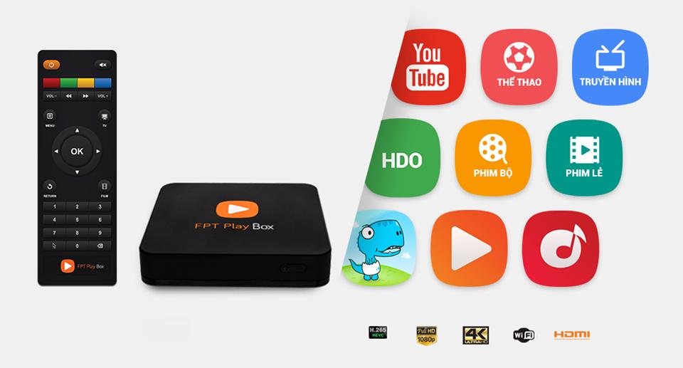 FPT Play BOX với Nhiều chức năng tiện ích
