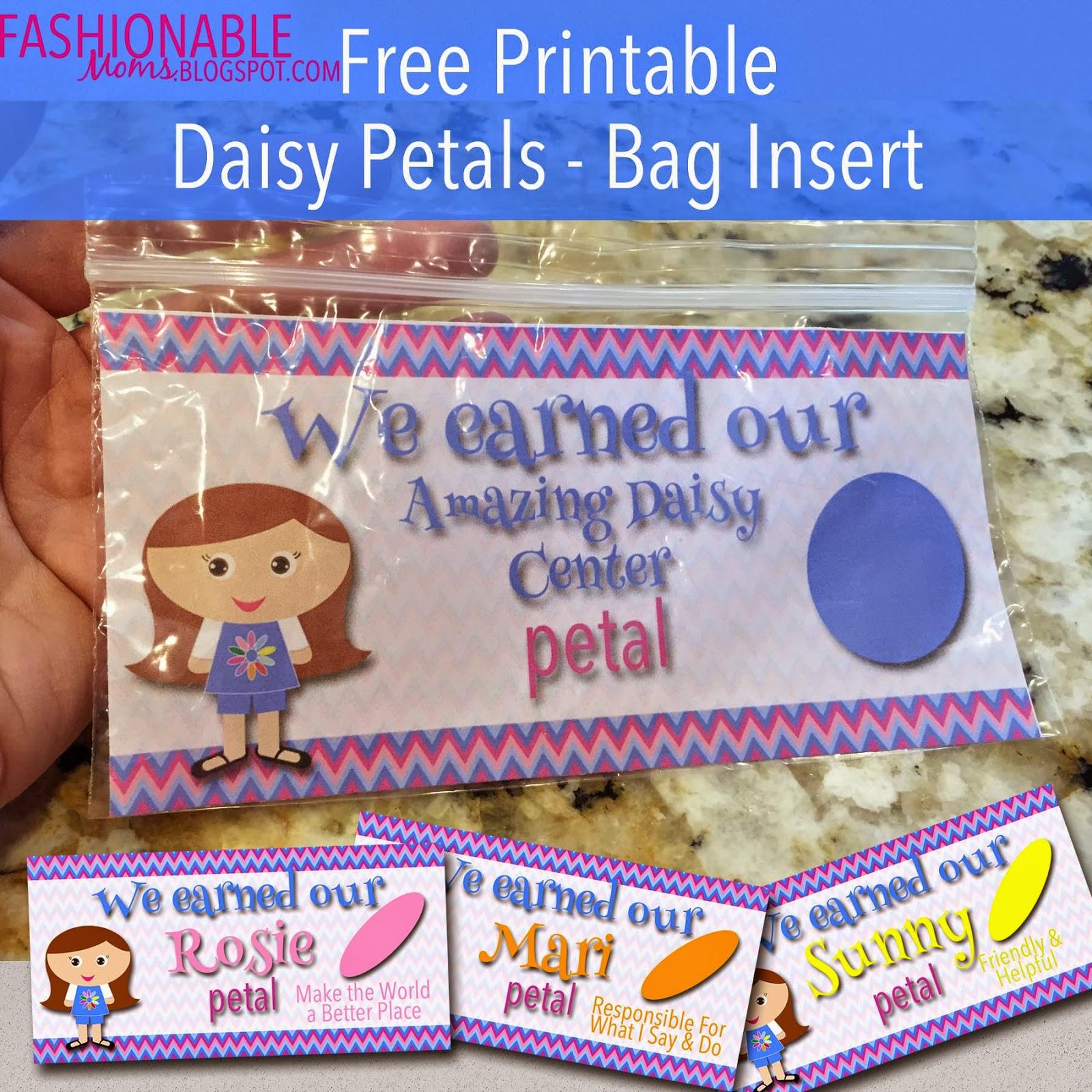 my fashionable designs free printable daisy petals bag