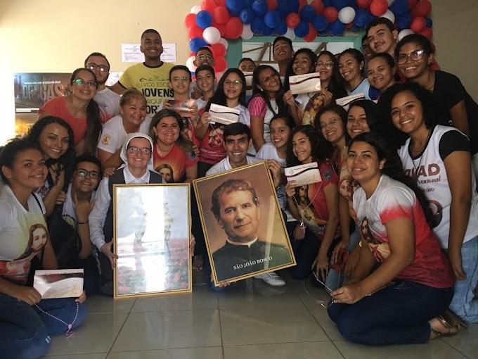 Igreja realiza 1º Encontro Paroquial da Juventude em Grossos