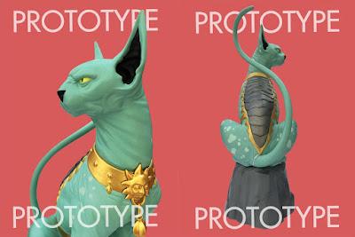 Saga Lying Cat Statue by Brian K. Vaughn, Fiona Staples & Skybound