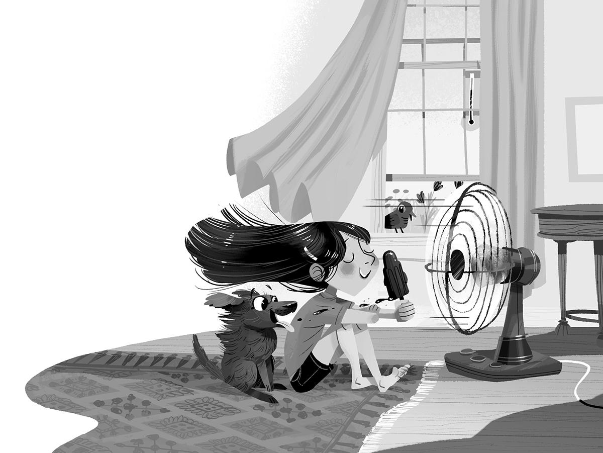 Ilustración editorial de Kim Smith | Calgary, Canadá